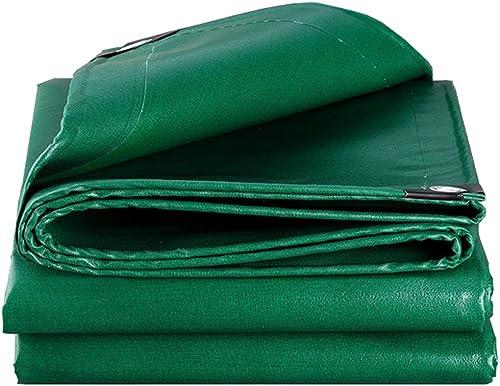 LIYin Feuille de bache de Prougeection de Pluie de Jardin de bache imperméable 100% imperméable Verte et prougeégée par UV UV,Options de Multi-Taille