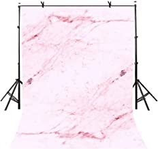 LYLYCTY 5x7ft Light Pink Marble Backdrop Light Pink Marble Physics Texture Photography Background and Studio Photography Backdrop Props LYGE819