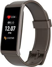 MYKRONOZ ZeFit4 HR Fitness Activity Tracker with Heart Rate Monitoring, Color Touchscreen & Smart Notifications - Brown/Brown