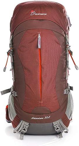 HBJP Sac à Dos en Plein air Sac à Dos de Grande capacité de Voyage en Plein air d'alpinisme féminin épaule male Tourisme de randonnée Ultra-léger imperméable à l'eau 40L50L