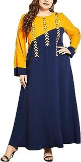 FridayIn Women's Plus Size Fashion Maxi Dresses