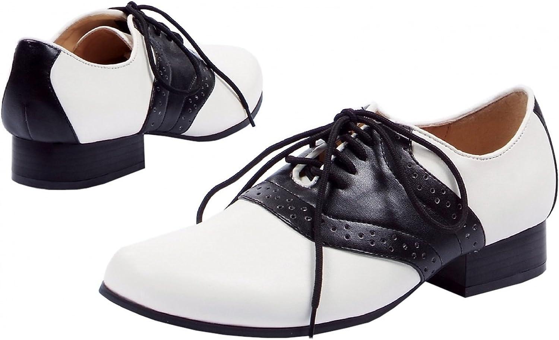 Saddle-105 Adult Costume shoes - Size 9