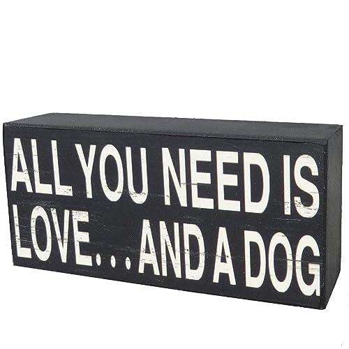 Dog Quotes Wood Signs: Amazon com