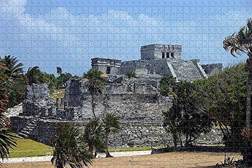 Riviera Maya Mexico Jigsaw Puzzle para Adultos 1000 Piezas Rompecabezas de Madera para Adultos