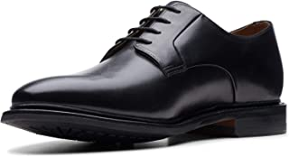 حذاء بريدجيبورت من الجلد الأسود المنخفض 10 من BOSTONIAN