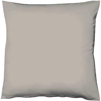 Fleuresse 4043202060447 - Funda de Almohada de 100% algodón/satén 80 x 80cm: Amazon.es: Hogar