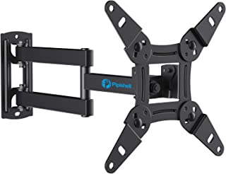 Full Motion TV Monitor Wall Mount Bracket Articulating Arms Swivels Tilts Extension..