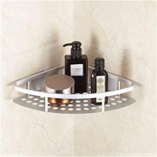 Etagère d'angle Caddy Douche Salle de bains Cuisine Réglable Rangement Organisateur Tablette for shampooing et savon 22 cm...