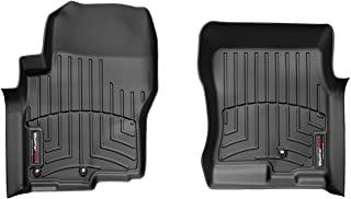WeatherTech 441761 Custom Fit Front FloorLiner for Nissan Frontier/Suzuki Equator (Black)