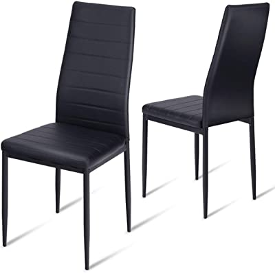 Brilliant Amazon Com Aingoo Kitchen Chairs Set Of 4 Dining Chair Dailytribune Chair Design For Home Dailytribuneorg