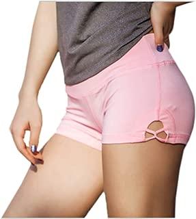 Elonglin Women's Sport Shorts for Yoga Fitness Training Running Elastic Waist Lightweight Pants