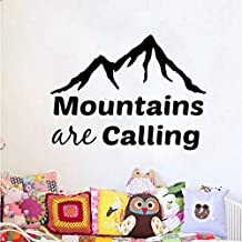 Wall Stickers/Sticker Mountains Are Calling Wall Decal Adventure Motivat PVC Wall Sticker 57x42CM