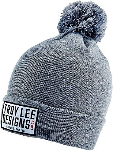 Troy Lee Designs 715365910 Knox Beanie, Htr Gray Os