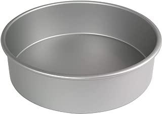PME RND124 Anodised Aluminium Round Cake Pan 12 x 4-Inch Deep, 12, Silver