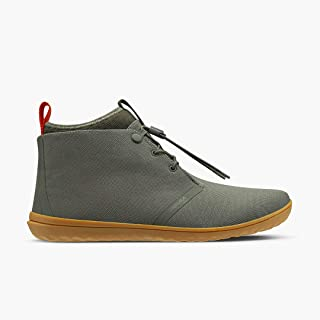 Gobi Ii Utility, Mens Winter Lace Up Desert Boot with Durable Barefoot Sole