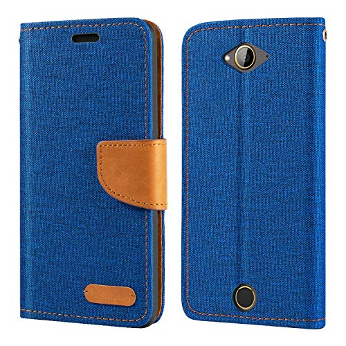 Acer Liquid Z530 Case, Oxford Leather Wallet Case with Soft TPU Back Cover Magnet Flip Case for Acer Liquid Z530