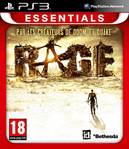 Just for Games Rage Essentials, PS3 Essentials PlayStation 3 Inglés vídeo - Juego (PS3, PlayStation 3, Shooter, Modo multijugador, M (Maduro))