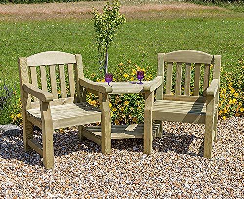 Zest4Leisure Emily Love Seat - FSC Certified Pressure Treated Wood