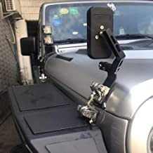 Maiker Blind Spot Mirror, Hood Mirror, Rearview Side Mirrors for 2007-2018 Jeep Wrangler JK/JL