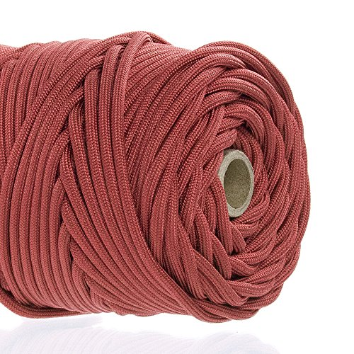GOLBERG 750lb Paracord/Parachute Cord - US Military Grade - Authentic Mil-Spec Type IV 750 lb Tensile Strength Strong Paracord - Mil-C-5040-H - 100% Nylon - Made in USA