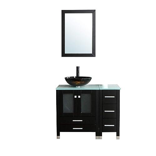Rustic Bathroom Vanity And Sink Combo Amazoncom