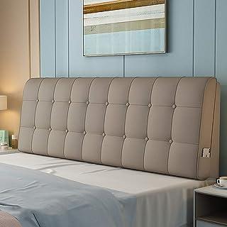 YUMUO PU-Cuir Coussin,tête De Lit Oreillers Cuscino Indietro Décoration à La Maison Style Luxueux pour La Maison Office Ca...