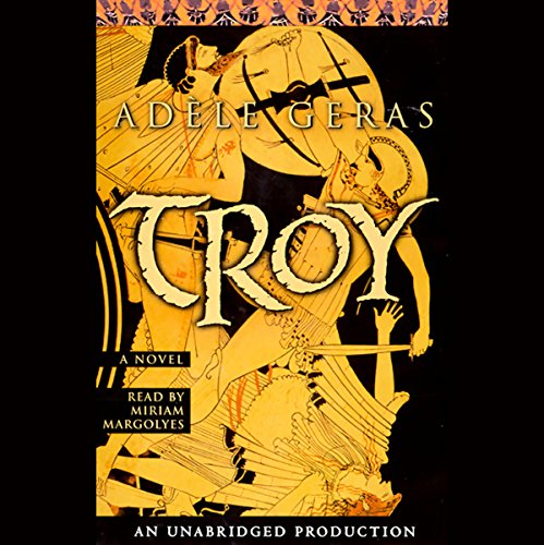 Troy audiobook cover art