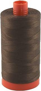 Aurifil Thread 2360 CHOCOLATE Cotton Mako 50wt Large Spool 1300m