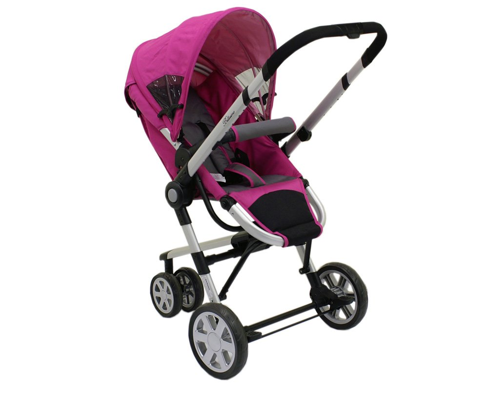 Dream On Me Lightweight Tripod Style, Adjustable Handle Stroller, Pink (Discontinued by Manufacturer)