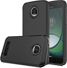 Moto Z Play Case, Venoro [Shockproof] Slim Hybrid Dual Layer Armor Defender Rugged Protective Case Cover for Motorola Moto Z Play/Moto Z Play Droid (Black)