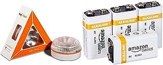 Help flash - Luz de Emergencia autónoma - Señal v16 de preseñalización de Peligro, homologada DGT & Amazon Basics – Pilas ...