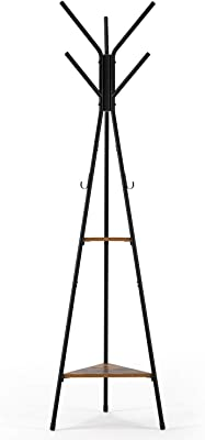 Amazon.com: Home-Like Metal Coat Rack Hat Hanger Holder Hall ...