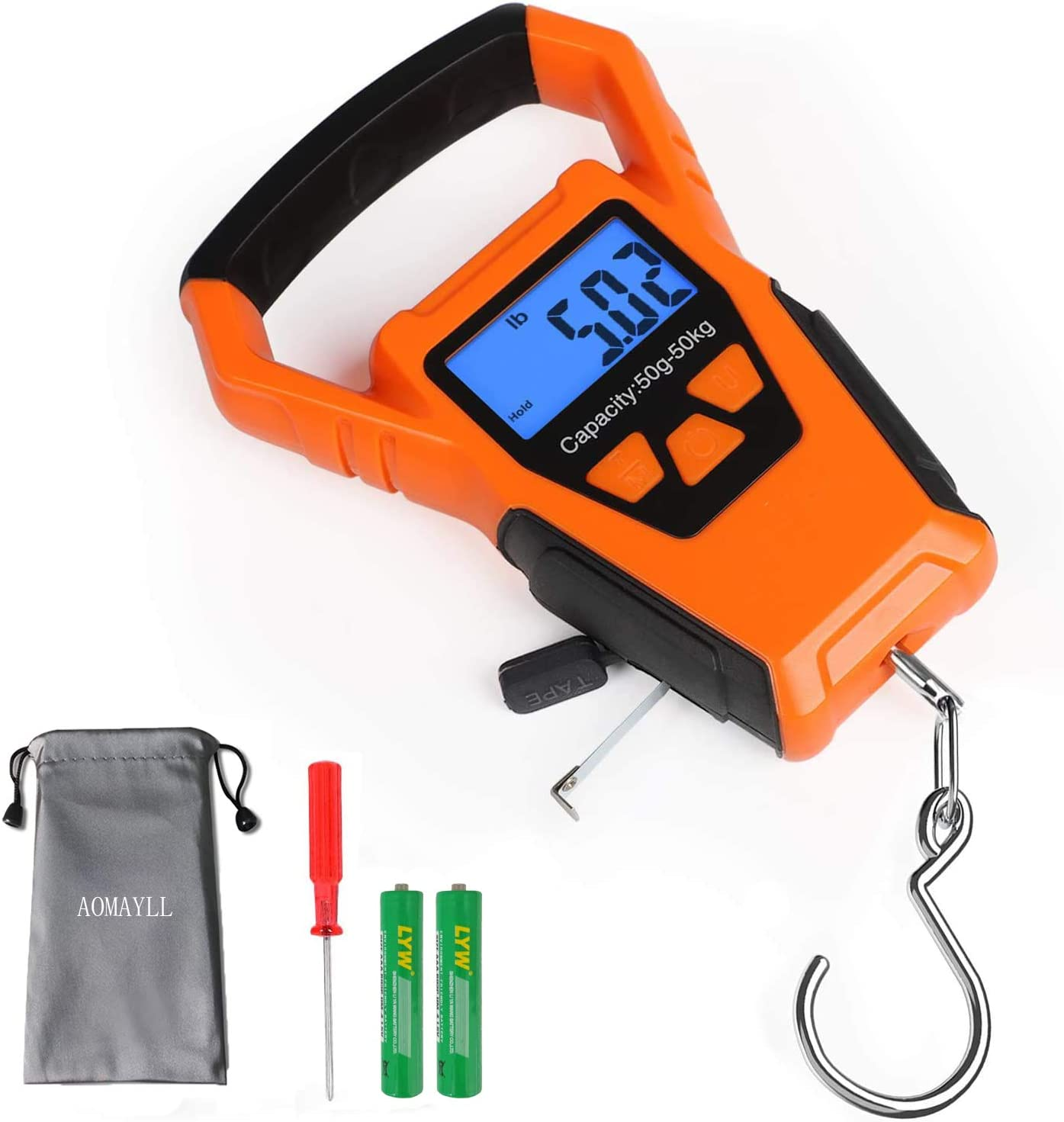 ZHL Waterproof Max 51% OFF Fishing Scale Bombing free shipping with H Luggage Ruler Weight
