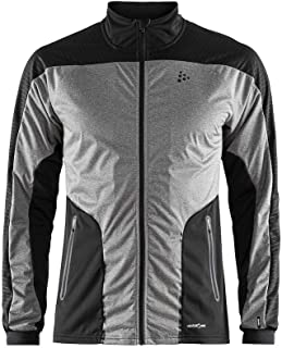Craft Mens Sharp Nordic Cross Country Skiing and Training Windproof Reflective Jacket
