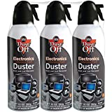 Falcon Compressed Gas (152a) Disposable Cleaning Duster 3 Count, 10 oz. Can (DPSXL3)...