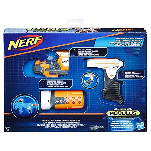 Hasbro Nerf b1535eu6N-Strike Modulus Set Accessori–Segreto Operation, Giocattolo Blaster di Accessori
