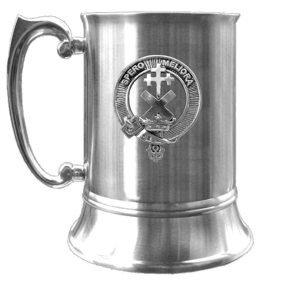 Moffat Scottish Regular discount Clan Crest Pewter Badge Houston Mall Tankard