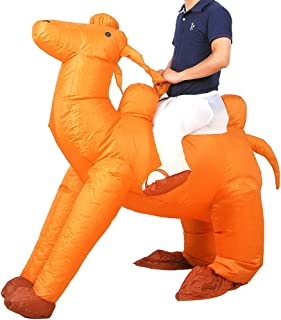 [Upgrade] Inflatable Costume Easter Costumes Adutls Ride On Animal Cosplay Party Costume 1PC