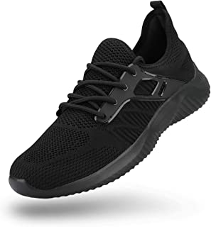 Men's Walking Slip-On Sneakers Lightweight Breathable Fashion Athletic Gym Casual Tennis Shoes