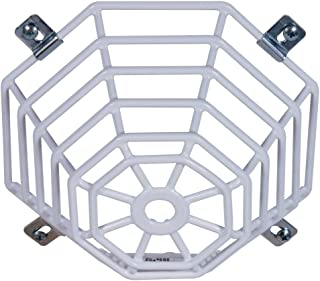 Safety Technology International, Inc. STI-9604 Steel Web Stopper, for Mini Smoke Detectors, Flush Mount, Protective Coated Steel Wire Guard