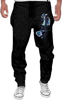 Men's Blue Exorcist Sweatpants Black Funny