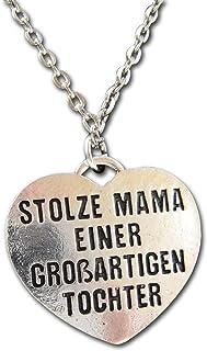 """Naszyjnik z napisem """"Stolze Mama einer großartigen"""