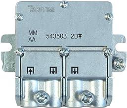 Televés 543503 543503 - Mini Repartidor 5 2400 mhz easyf 2D 4.3/4db, Acero Inoxidable, 1 unidad