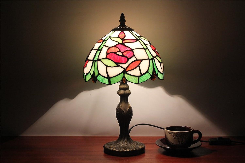 8-Zoll-Glas Tee Gartenrestaurant Club Nachttischlampe Schlafzimmer Wohnzimmer Wohnzimmer Wohnzimmer Arts & Craft Tischlampe B06Y2NHDGH   Erste Gruppe von Kunden  98aafb