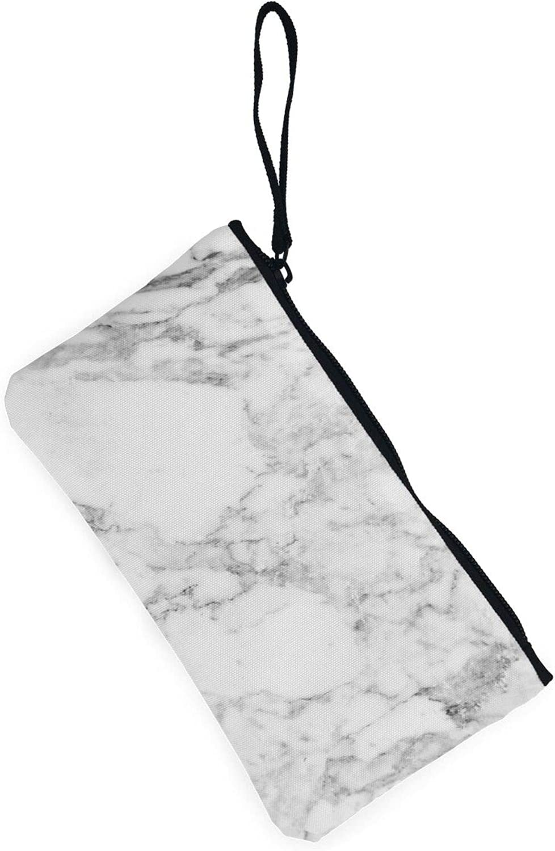 AORRUAM Marble texture Canvas Coin Purse,Canvas Zipper Pencil Cases,Canvas Change Purse Pouch Mini Wallet Coin Bag