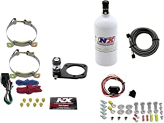Nitrous Express 62110-2.5P Dry Nitrous Plate System For Use w/2001-2016 Harley Soft-Tail Incl. All Necessary Components Hardware w/2.5 lb. Bottle Dry Nitrous Plate System