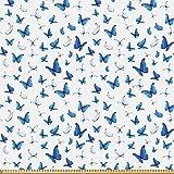ABAKUHAUS Schmetterling Stoff als Meterware, Regenwald