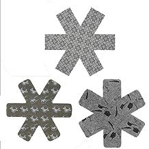 XSM Pot Protector Pads Non-tissé Anti-Hot Divider Non-Stick Scratch Protecteur Tapis pour Ustensiles De Cuisine Pot Dishware 3pcs
