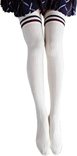 S&E 可愛いサイハイ ソックス  靴下 オーバーニーソックス レディース 厚い 冬に適用