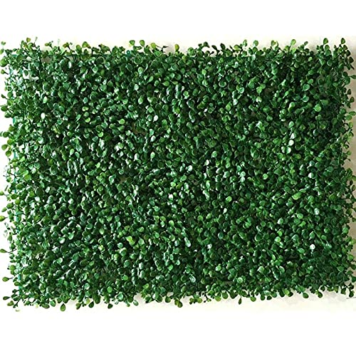 LVLUOKJ Artificial Boxwood Panels,Fence Privacy Screen Panels Backdrop Wall Decor Easy to install Artificial Ivy 40 * 60CM